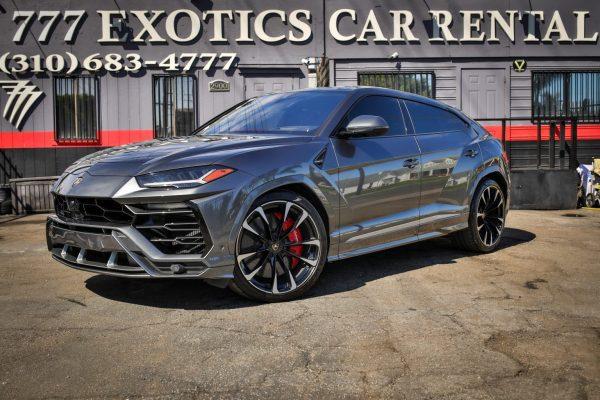 Black Lamborghini Urus Rental   Car Rental   Los Angeles