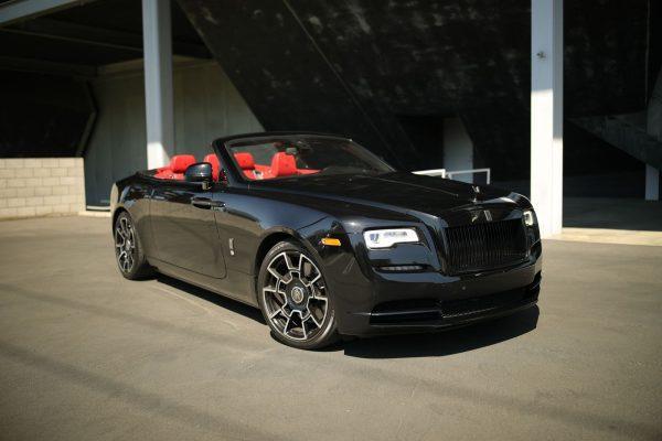 Black Rolls Royce Dawn Rental in Las Vegas