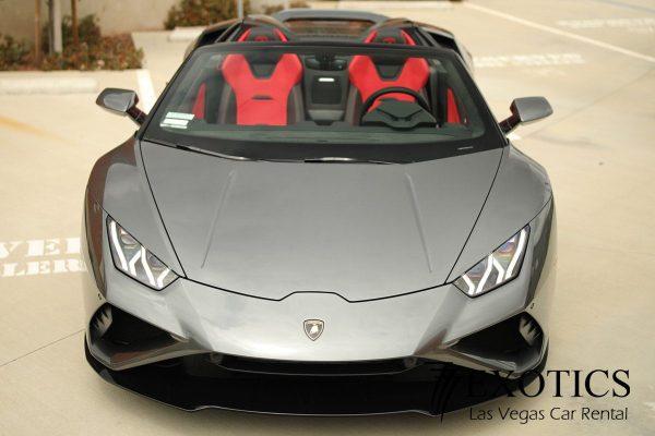 Lamborghini Huracan Evo Spyder Las Vegas front view