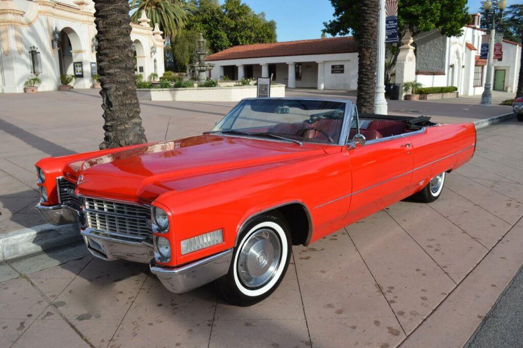 1966 Cadillac Deville Rental Los Angeles And Las Vegas