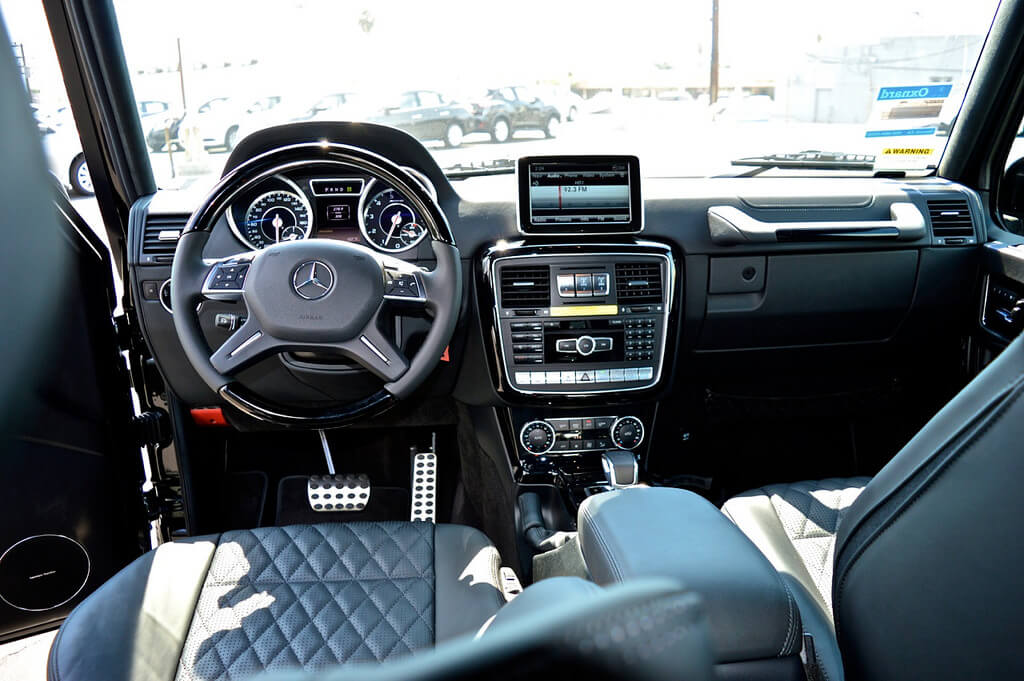 mercedes g63 rental interior LA