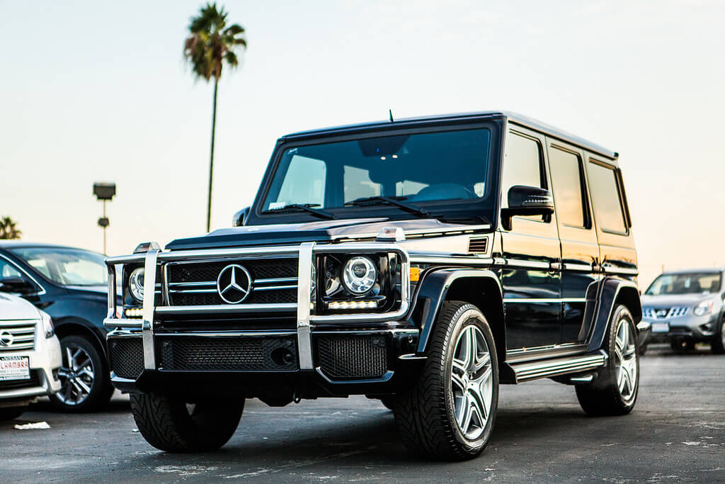 Mercedes Benz G63 Rentals Los Angeles