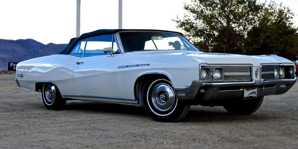 1968 buick le sabre rental LA white
