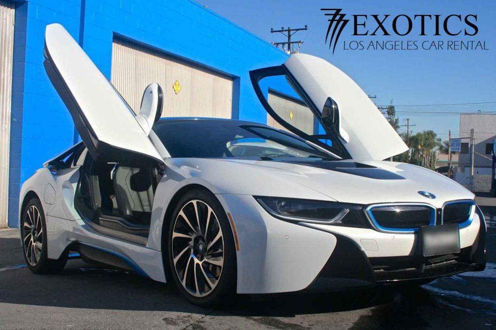 BMW i8 Rental Los Angeles