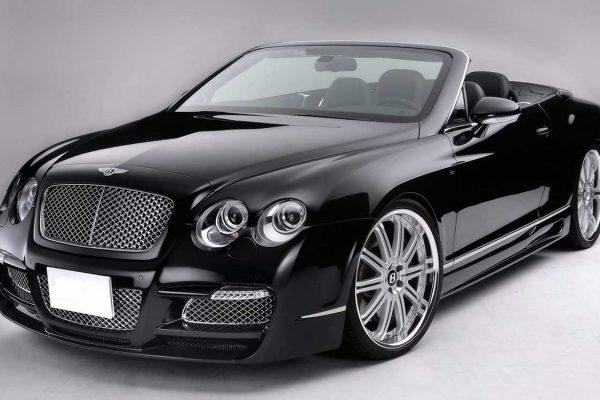 Bentley black socal car rental