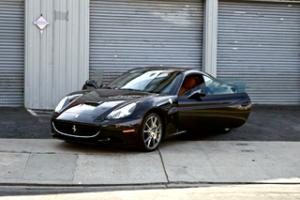 Ferrari Convertible  LA Rental Doors open