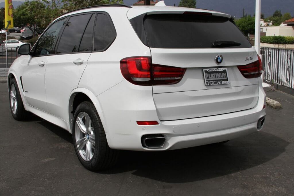 bmw x5 rental back la