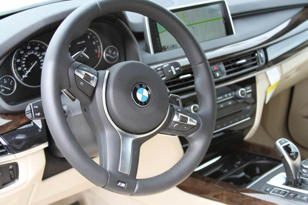 bmw x5 rental steering wheel