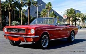 Los Angeles Luxury Exotic Car Rental 1966 Ford Mustang
