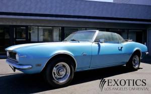 Los Angeles Luxury Exotic Car Rental 1968 Chevy Camaro