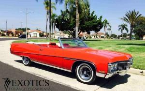 Los Angeles Luxury Exotic Car Rental 1970 Buick Electra