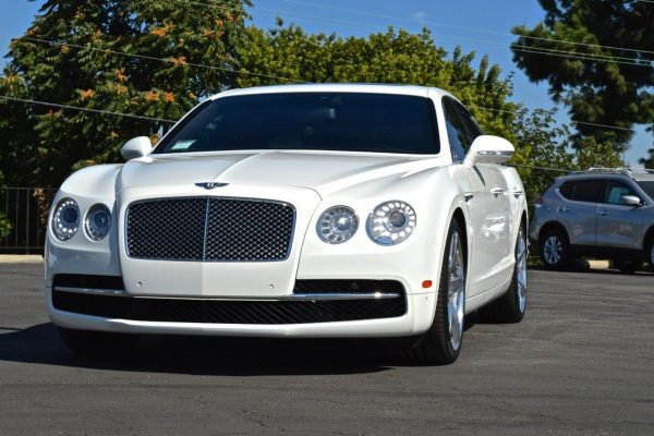 Bentley flying spur in LOS Angeles