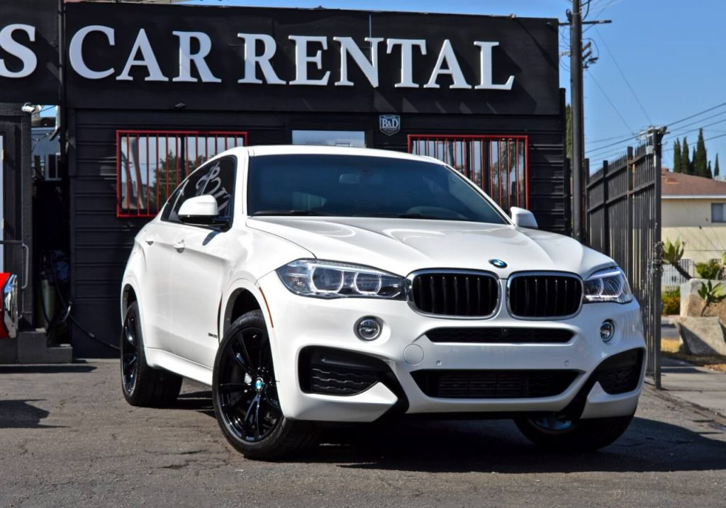 BMW X6 Rentals Los Angeles