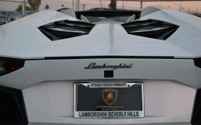 777 Exotics Lamborghini Aventador back brand view