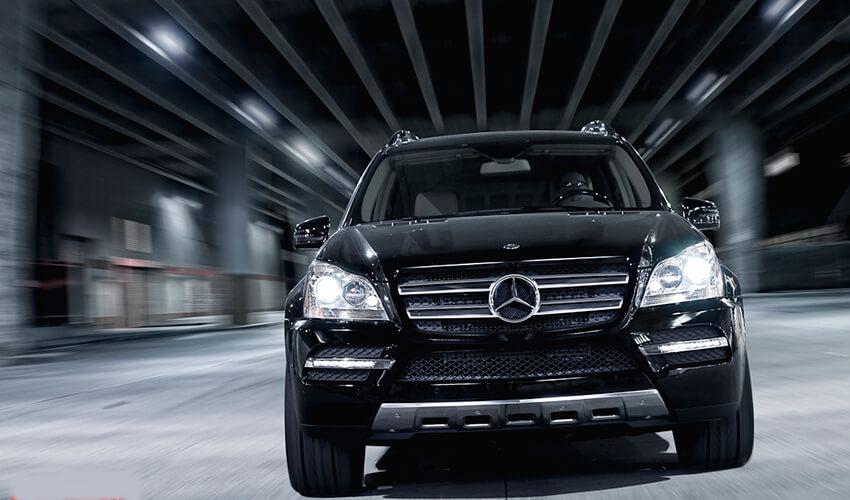 Exotics Mercedes Lower frront view