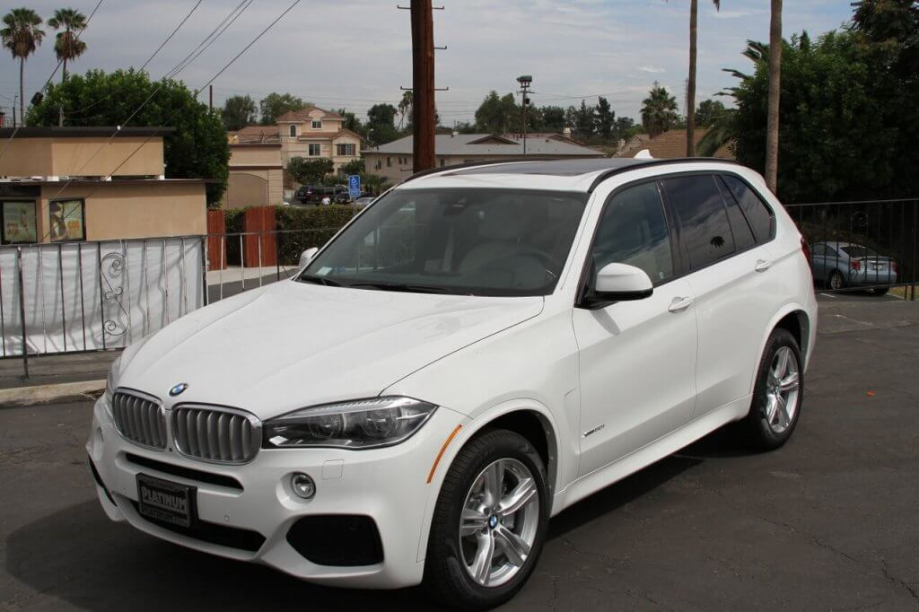 bmw x5 rental white