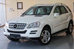 White Mercedes Benz ml350 Suv Rental Los Angeles