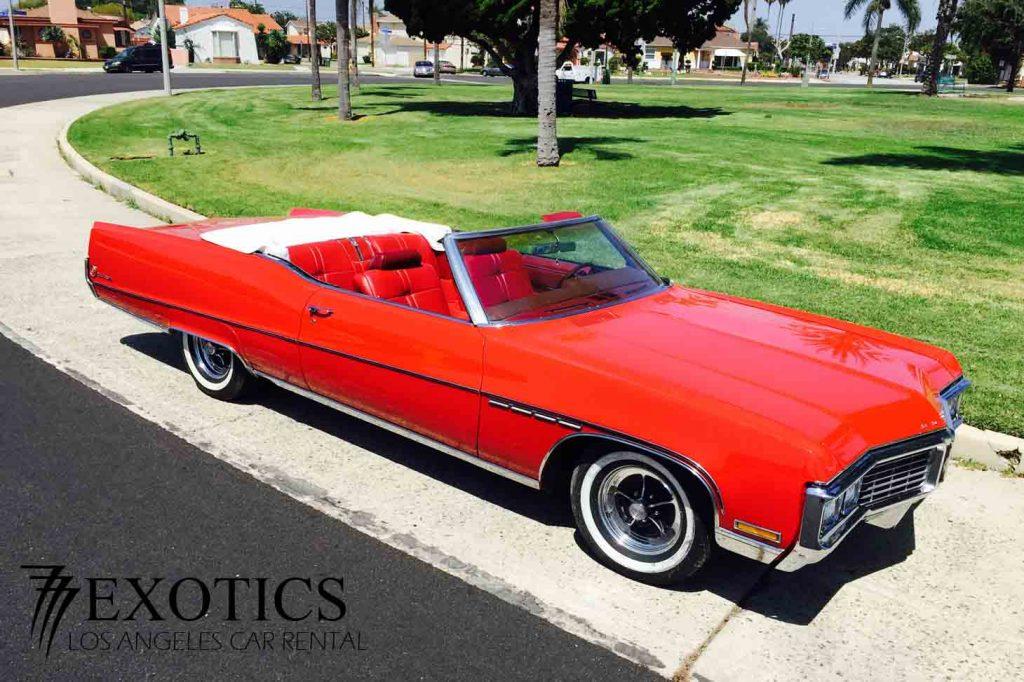 1970 Buick Electra Rentals Los Angeles