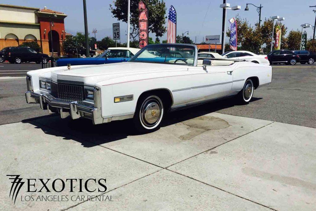 1975 Cadillac El Dorado far front