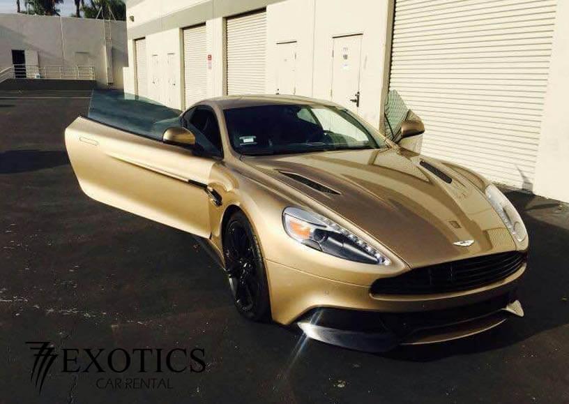 Aston Martin Vanquish Rentals Los Angeles And Las Vegas - Aston martin vanquish rental