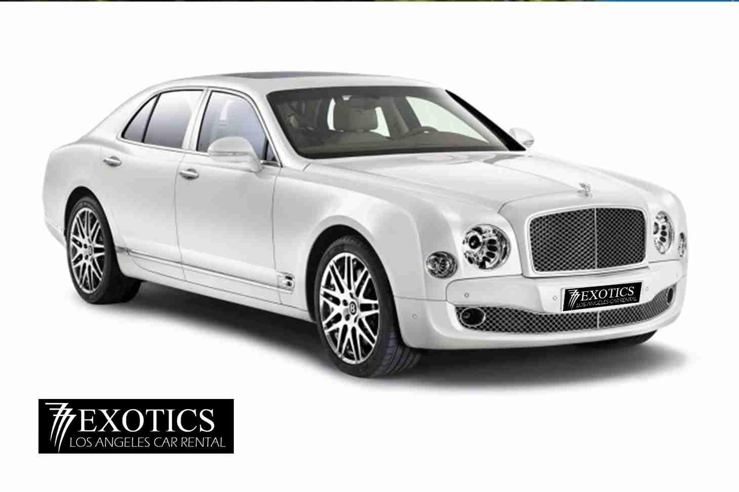 Bentley Muslanne Rental Los Angeles And Las Vegas