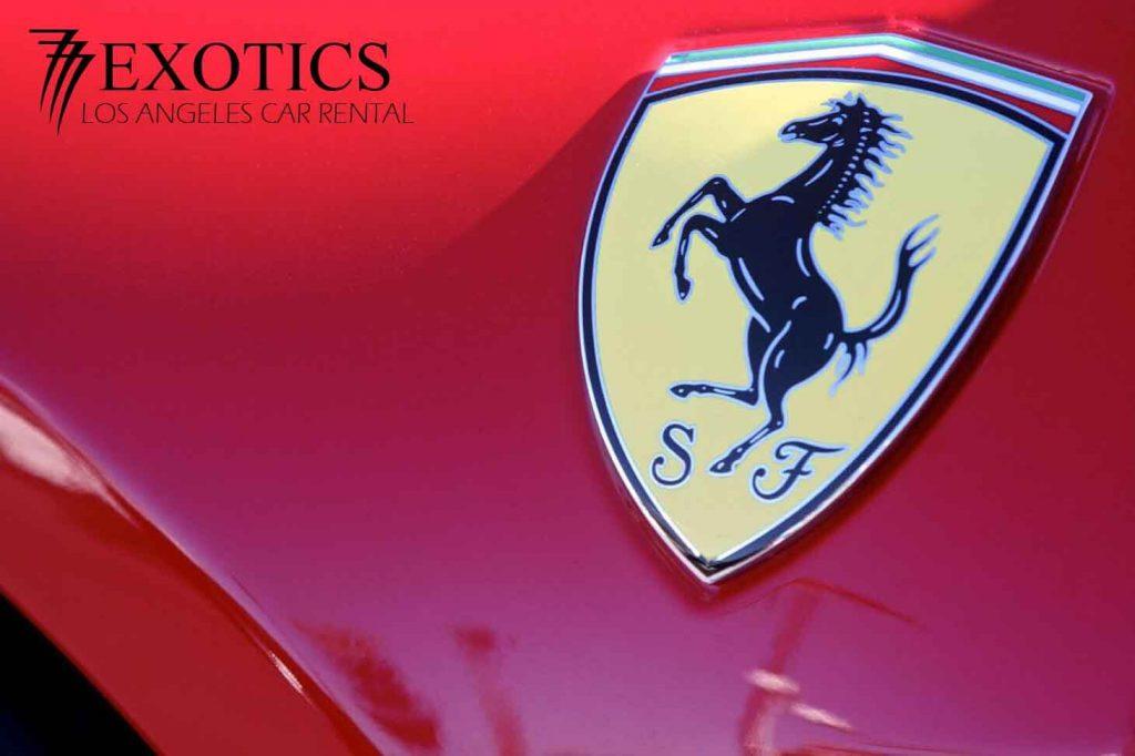 Ferrari 458 Italia Coupe logo 777 Exotics