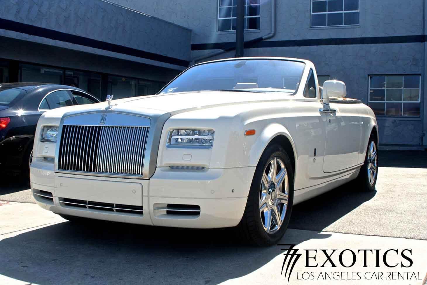 Rolls Royce Phantom Rental Los Angeles And Las Vegas