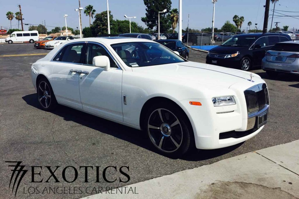 Rolls Royce Ghost Rental