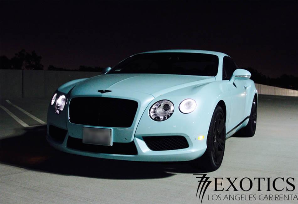 Bentley Continental GT Rentals