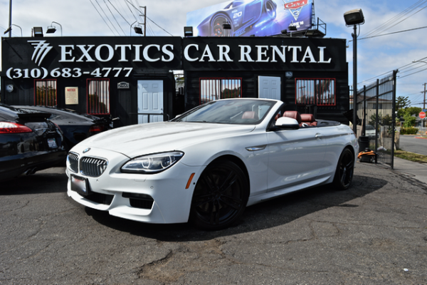 BMW 650i Rentals Los Angeles