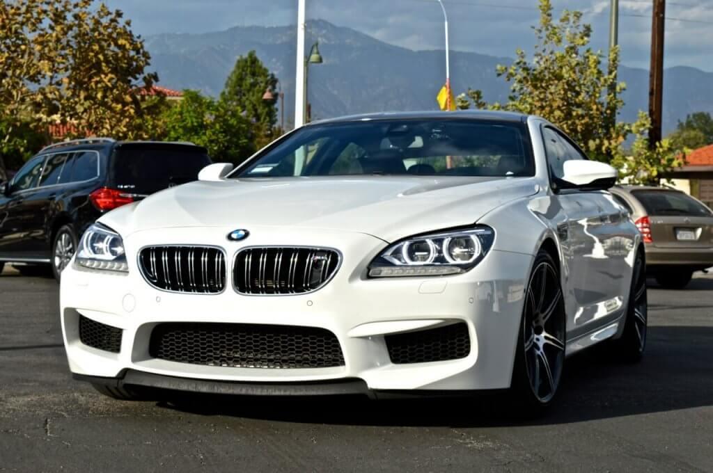 BMW M6 Rental Los Angeles Las Vegas View Front