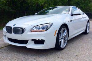 Los Angeles Luxury Exotic Car Rental BMW 650i