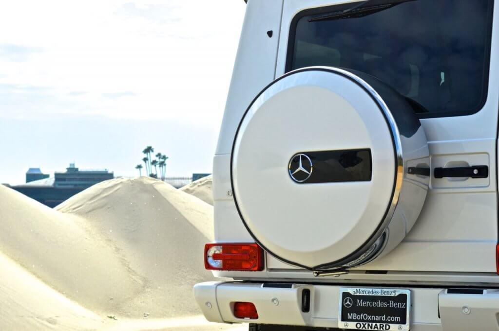 Mercedes Benz G550 Rentals