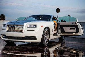 Los Angeles Luxury Exotic Car Rental Rolls Royce Wraith