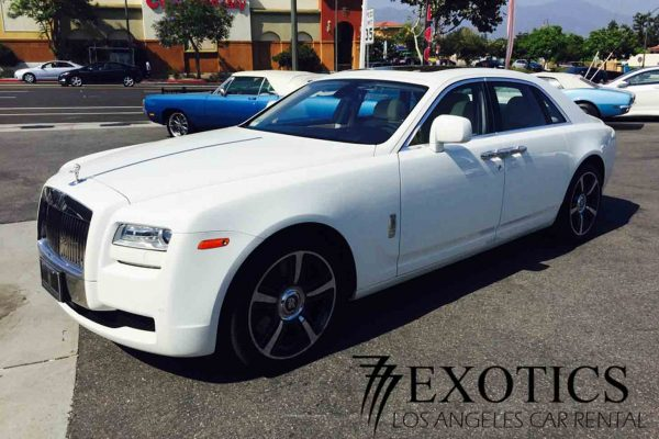 Rolls Royce Ghost Rental Los Angeles