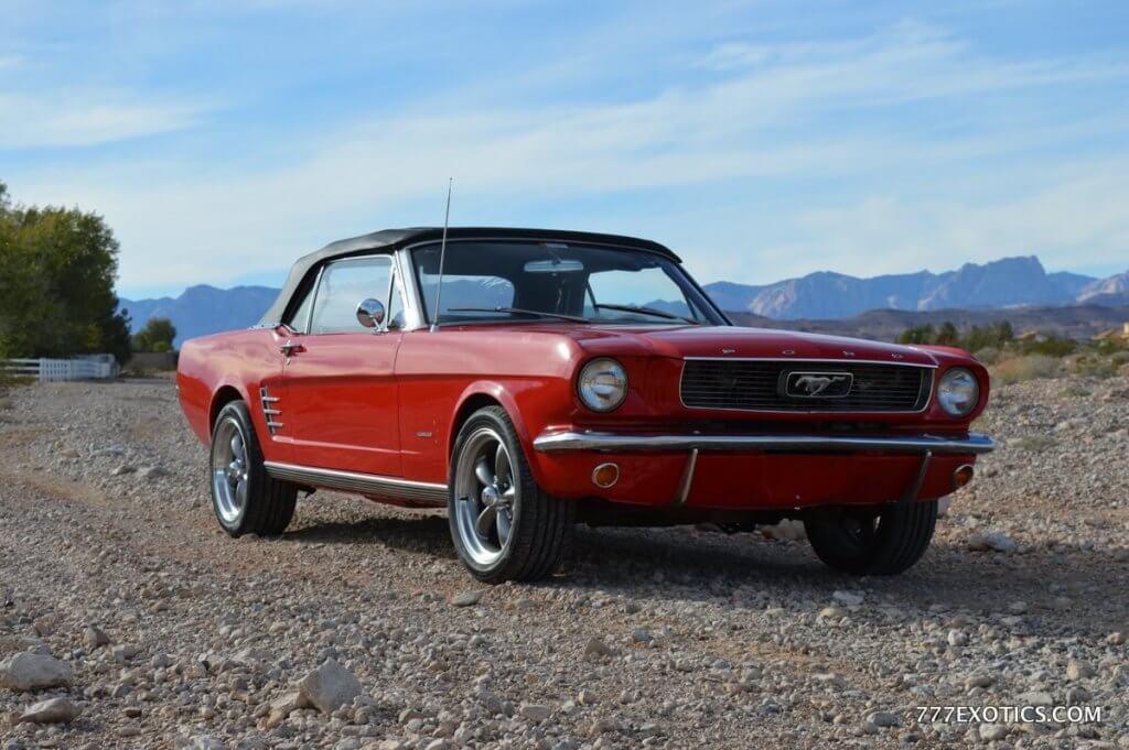 Mustang Car Rental Los Angeles