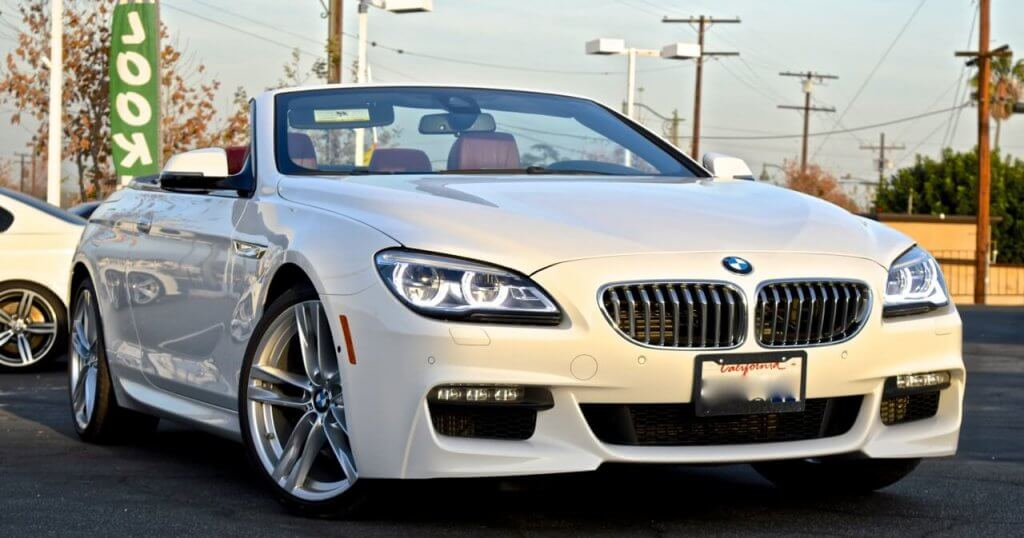 Bmw Convertible 6 Series 650 Bmw Sports Car Rental 777