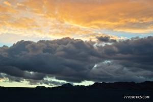 Drive Los Angeles To Las Vegas clouds