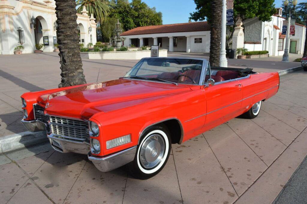 1966 Cadillac DeVille Rental Los Angeles