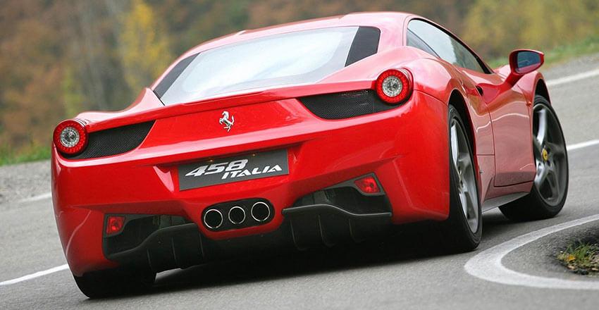 Ferrari 458 Italia Coupe Rental Los Angeles And Las Vegas