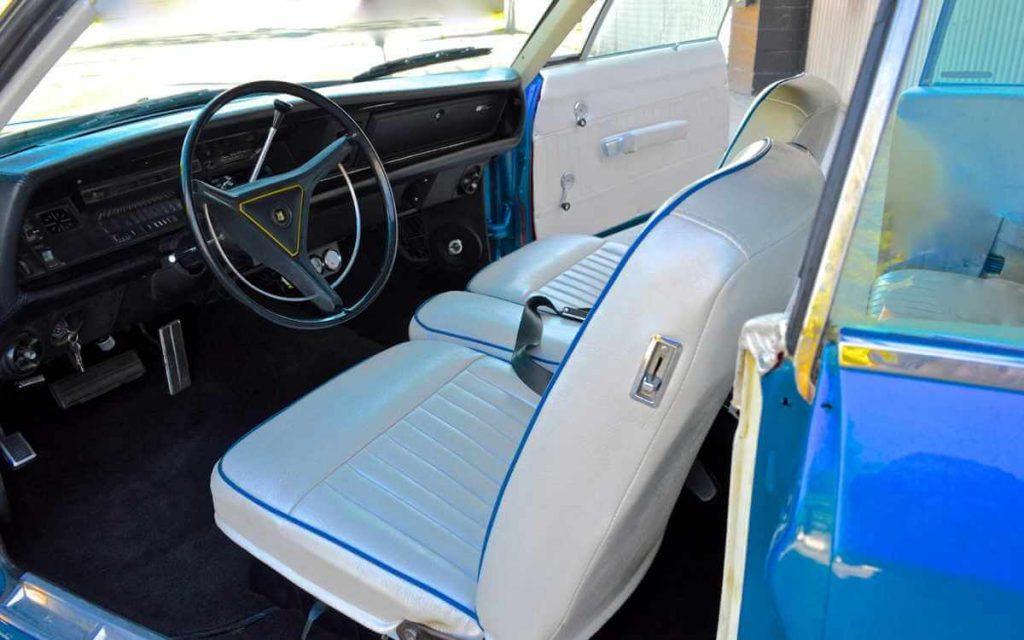 1969 Classic Chrysler Newport Wheels