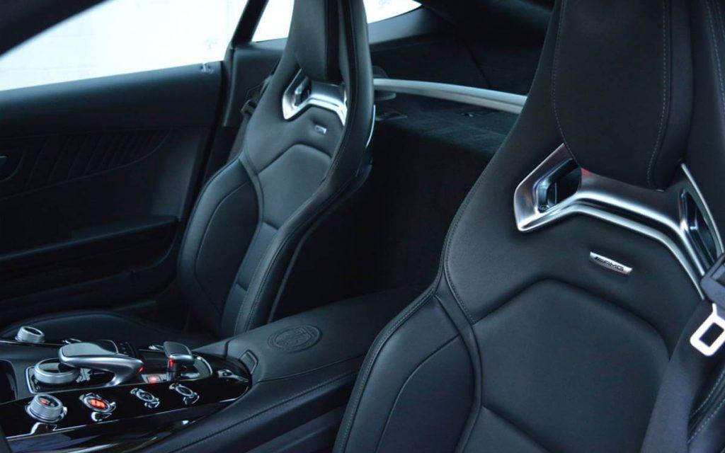 black sports mercedes benz hot car interior 777 exotic car rental los angeles