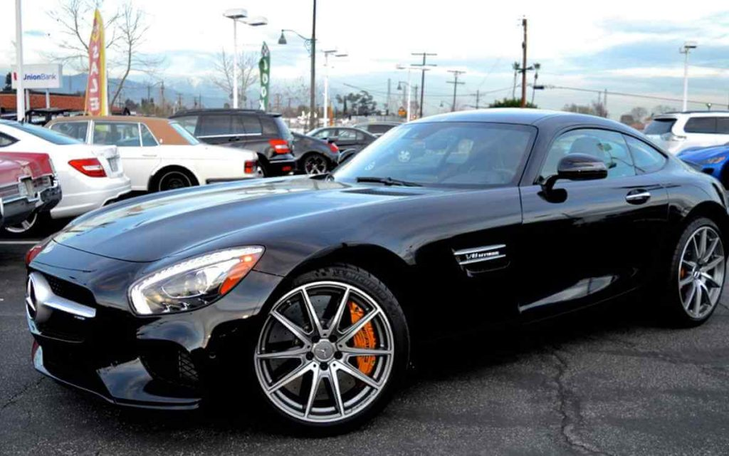 Mercedes AMG GT Rental Los Angeles