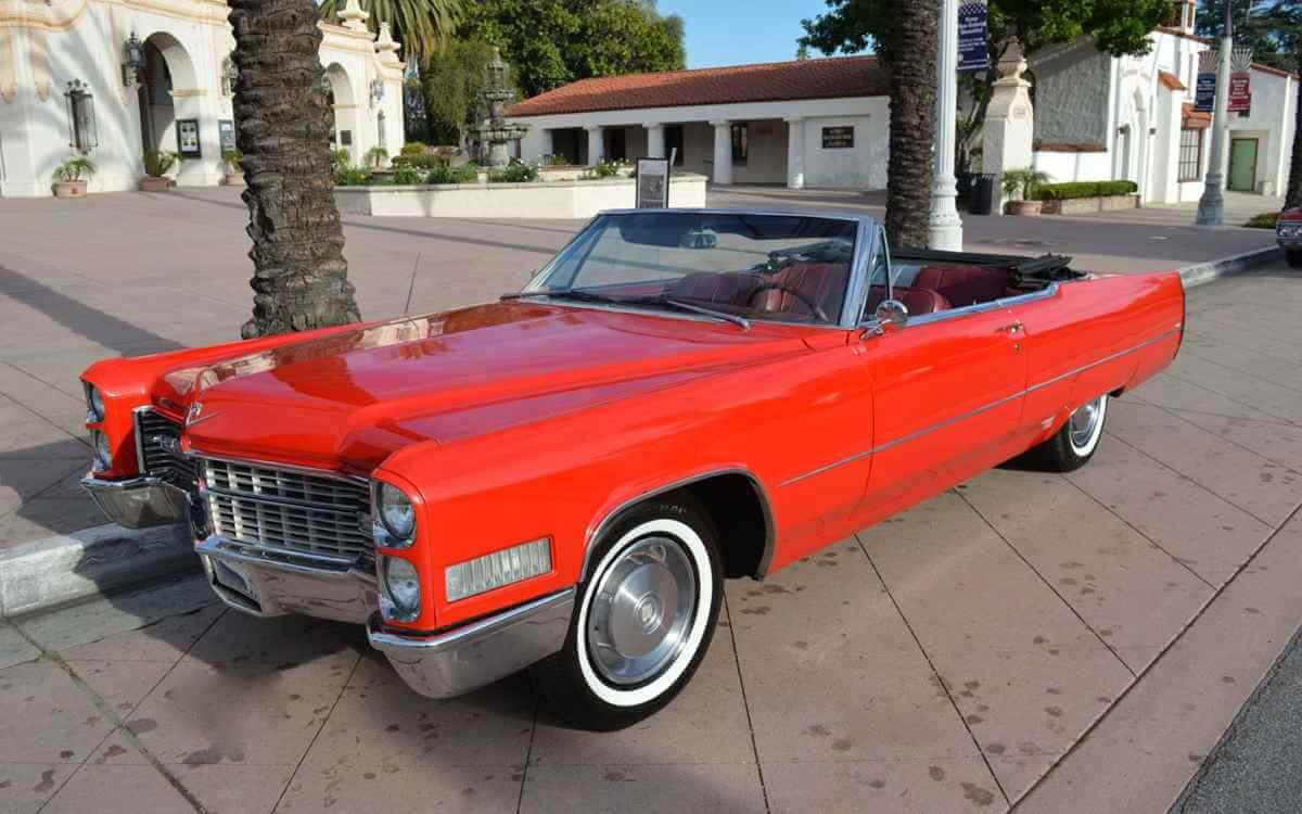 Los Angeles Luxury Exotic Car Rental 1966 Cadillac DeVille