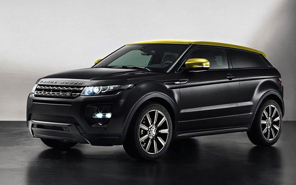 Range Rover Evoque Rental Los Angeles And Las Vegas