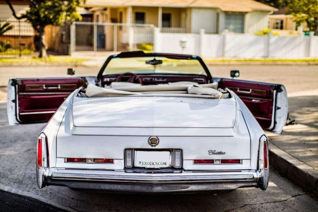 cadillac eldorado panorama back in LOS Angles