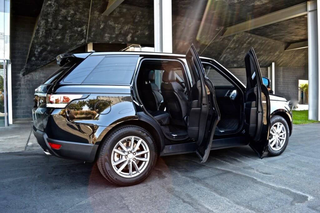 Black Range Rover Door 777 Exotics