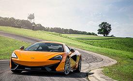 McLaren-Los Angeles Exotics Cars Rent