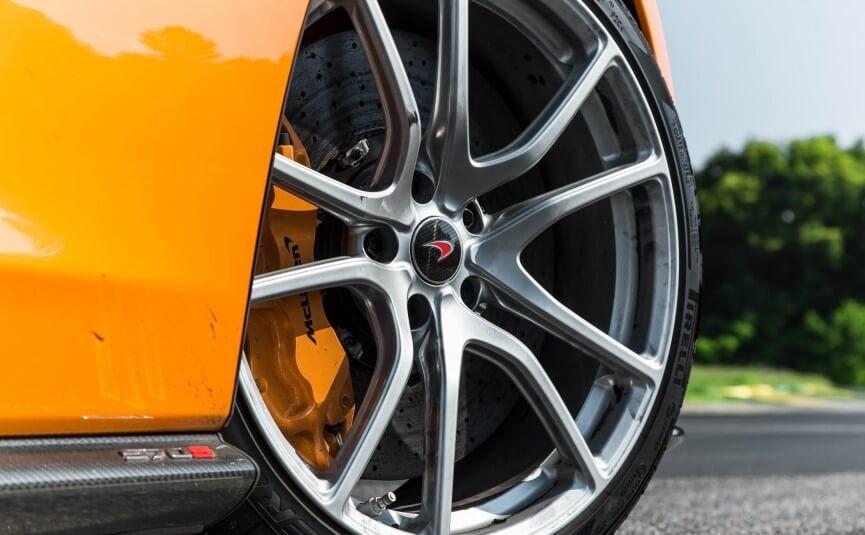 Los Angeles Mclaren Exotics cars wheel
