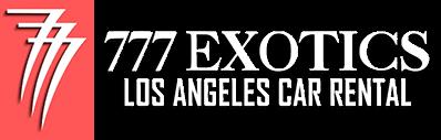 777 Exotic Car Rental Los Angeles